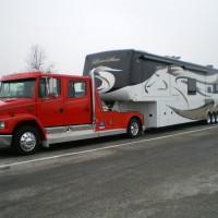 truck + horse trailer