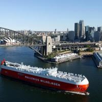 roro-ship-sydney-australia